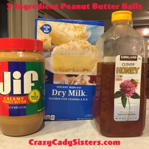 3-Ingredient Peanut Butter Balls (They Might BeHealthy-ish!)