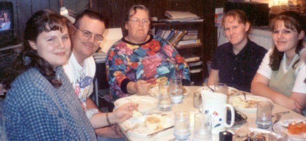 Crazy Cady Thanksgiving 1995